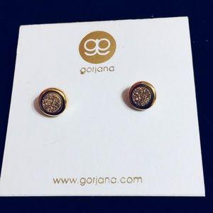 Gorjana Gold Stud Earrings NWT